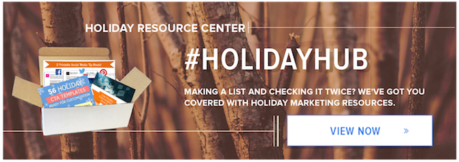 Visit The Holiday Resource Hub For All Your Marketing Needs