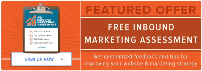 get a free inbound marketing assessment