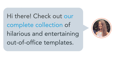 15 funny out of office messages to inspire your own templates new call to action reheart Choice Image
