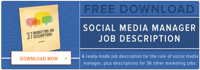 What the Best Social Media Community Managers Actually Do in Their – Social Media Marketing Job Description