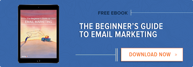 13 email examples that totally nailed personalization free download beginners guide to email marketing fandeluxe Image collections