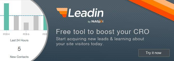 Get Leadin: Free Lead Generation Tool