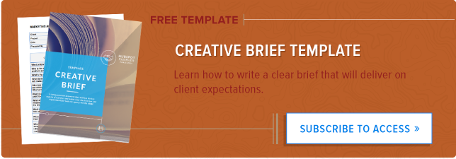 13 questions to help you write a compelling creative brief in 2018 creative brief cta pronofoot35fo Image collections