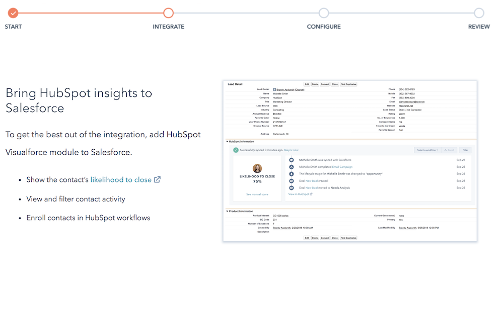 Hubspot Salesforce Crm Integration