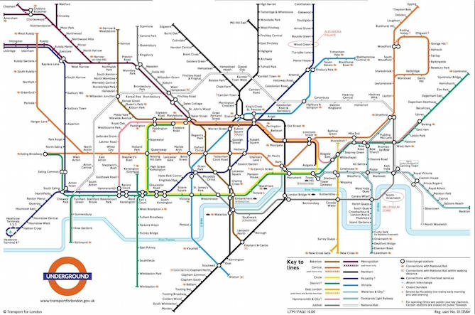 The Best Worst Subway Map Designs From Around the World Henry – London Subway System Map