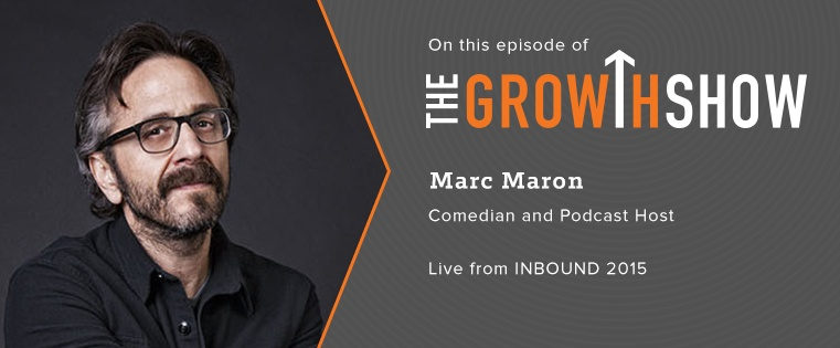Marc Maron on the Future of Podcasting: An Exclusive Chat at #INBOUND15 [Podcast]