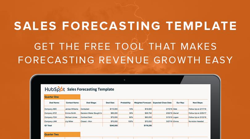 revenue projections template