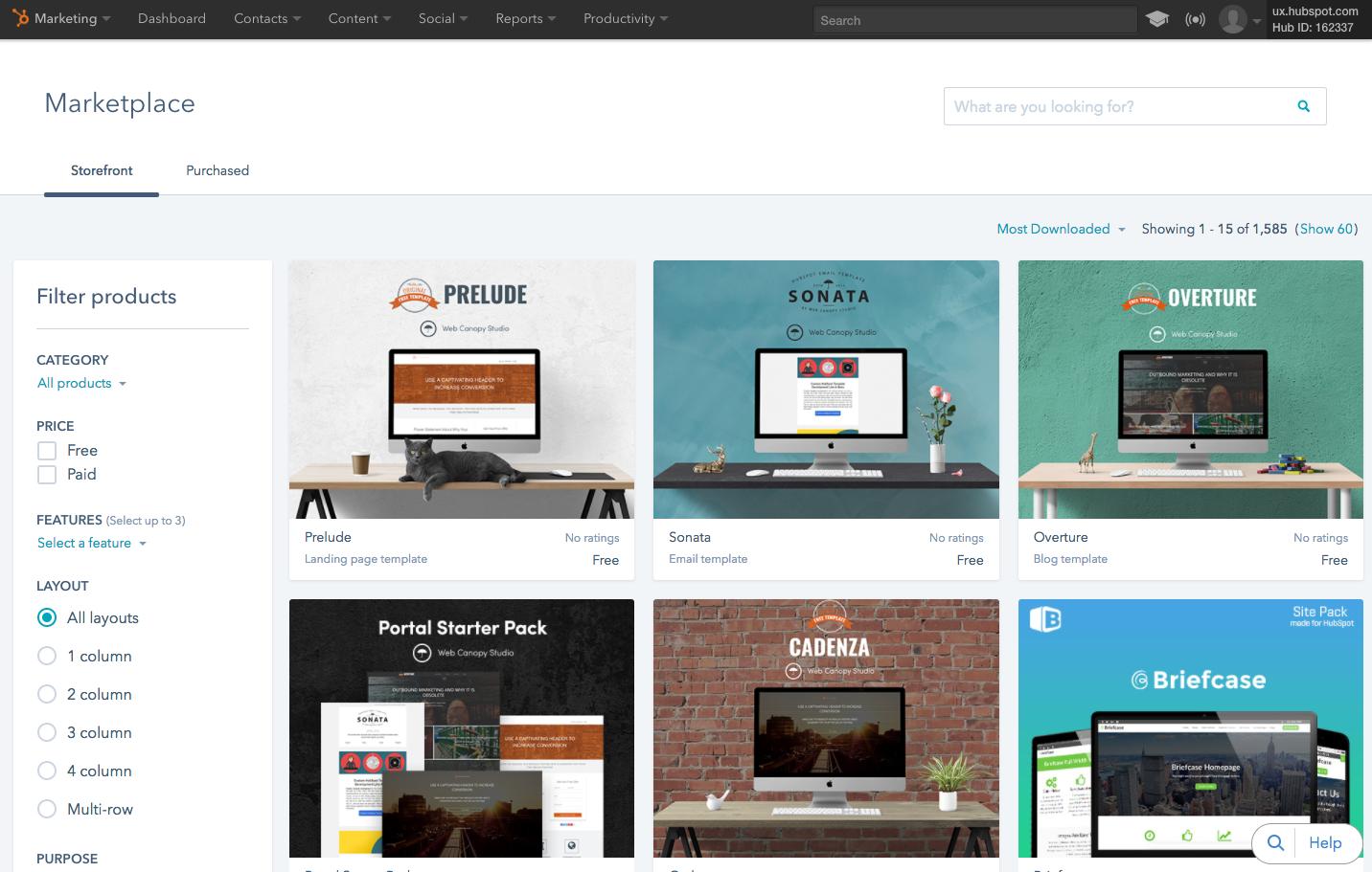 hubspot visual refresh app by app progress report. Black Bedroom Furniture Sets. Home Design Ideas