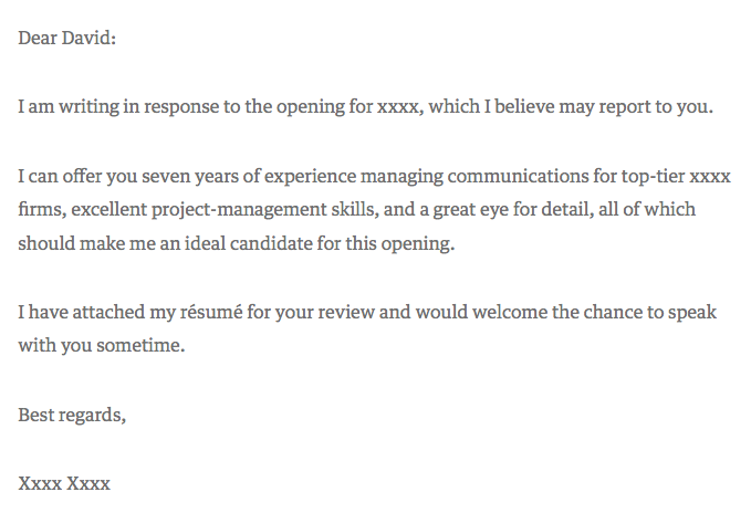 real estate analyst cover letter