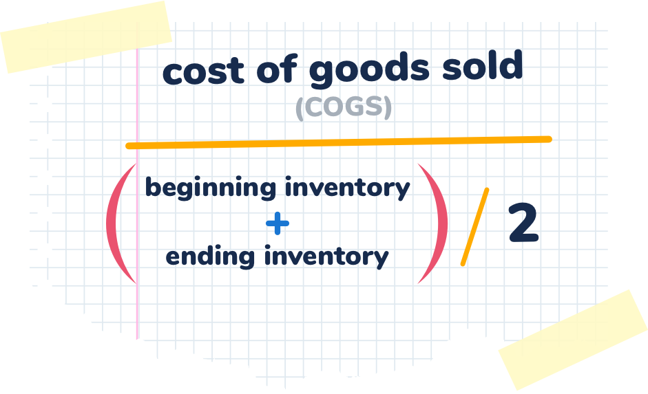 cost of goods sold inventory turnover formula