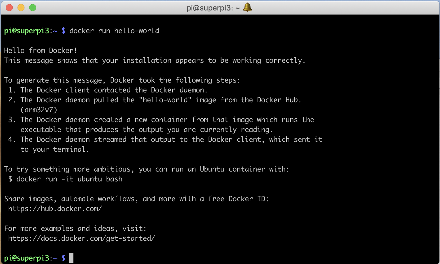 Screenshot. alwaysAI Computer Vision Platform using Raspberry Pi