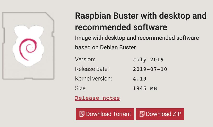 Screenshot Raspbian for alwaysAI Computer Vision Platform. Raspberry Pi