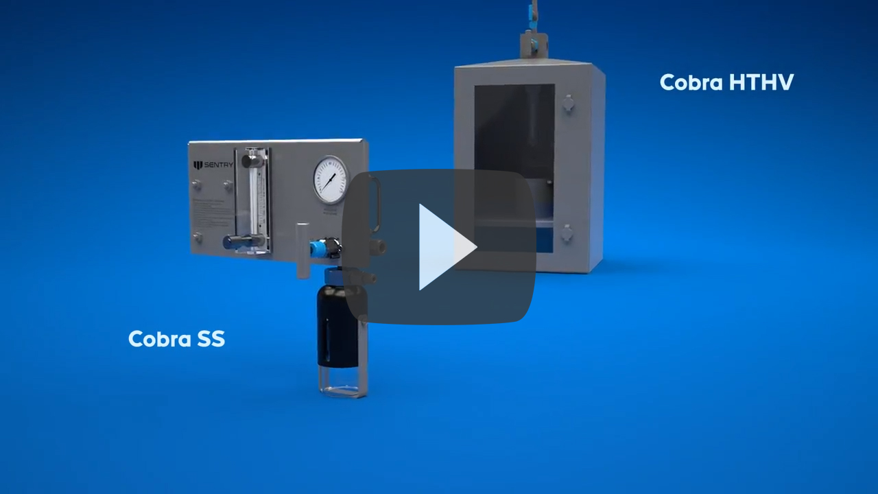 Sentry Cobra SS Liquid Sampler & HTHV High-Viscosity Sampler Product Animations