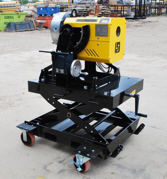 Pipe Welding Positioners Benchtop Scissor Lift Cart