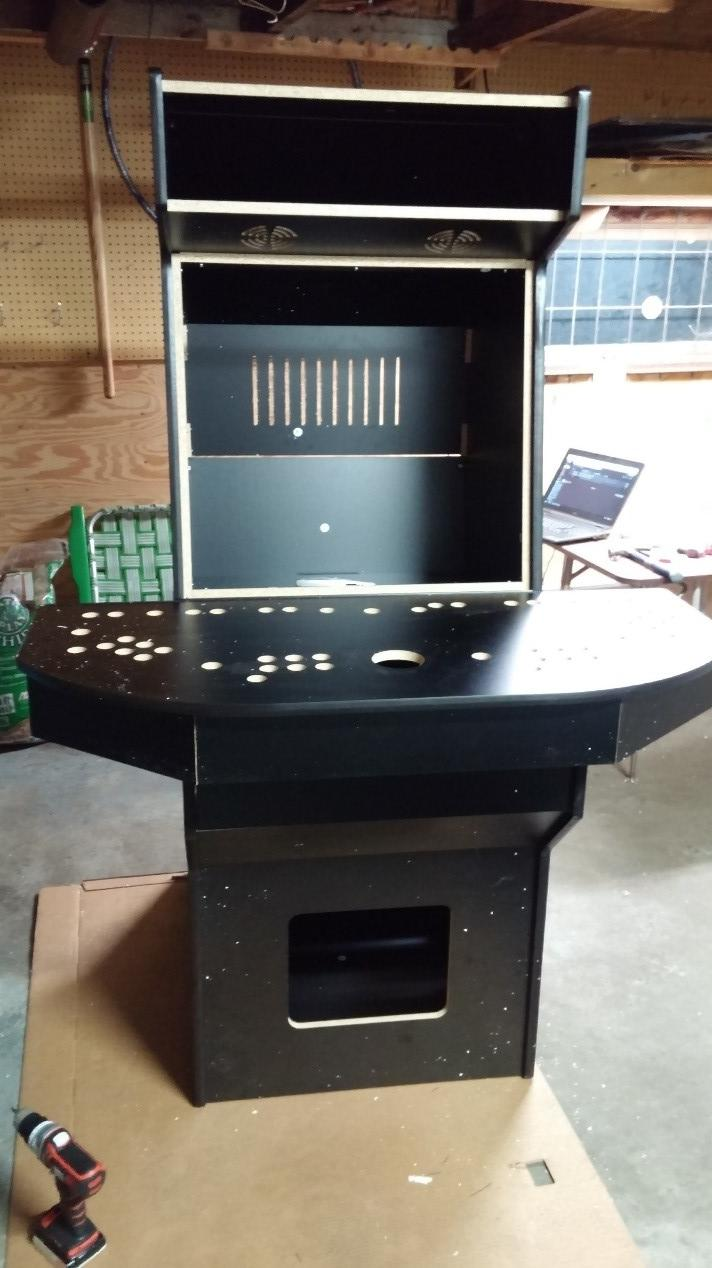 Cocktail Arcade Cabinet Kit Building An Arcade Machine Part 2 Building The Cabinet