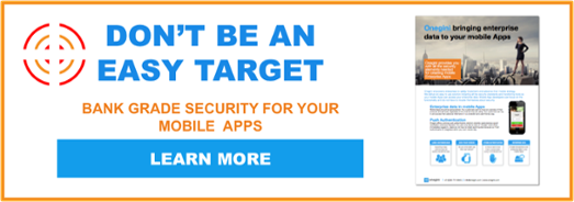 Onegini Mobile Security Platform Brochure download button