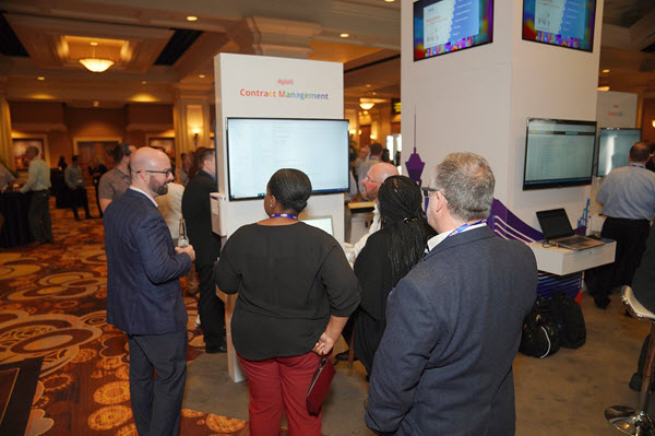 Agiloft Summit 2019 booth demo