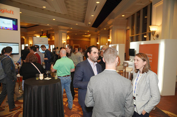Agiloft Summit 2019 partner pavilion