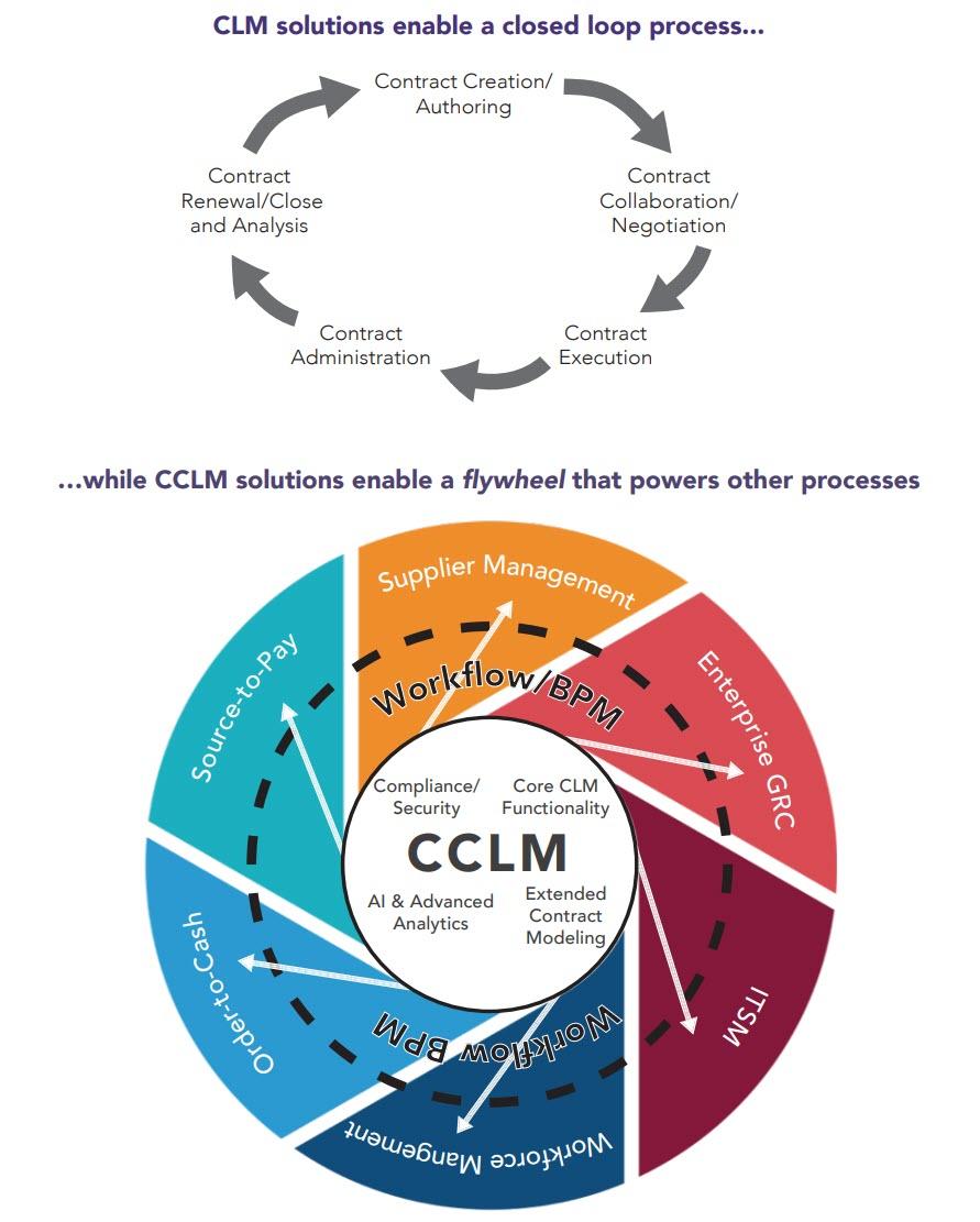CLM solutions vs. CCLM solutions processes