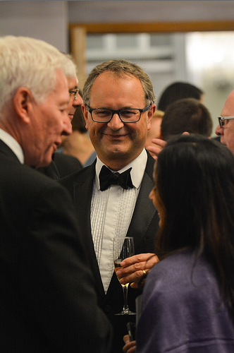 Photo of Tim Houstoun CEO Global Shares at ICSA Awards 2015
