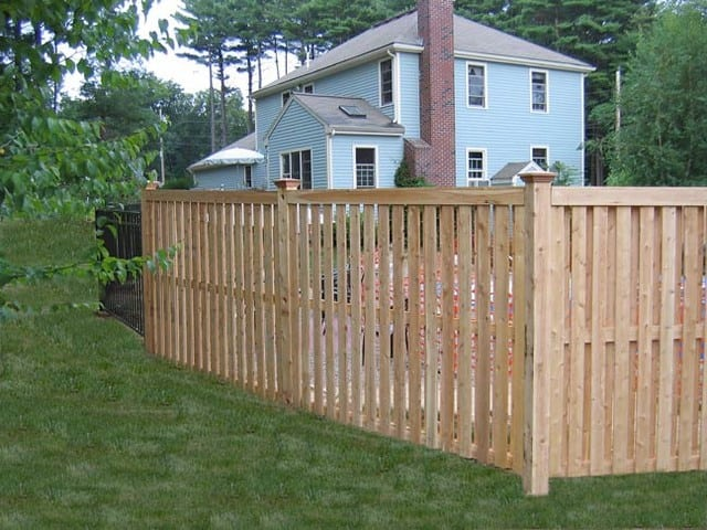 How To Install A Fence Wood Basics