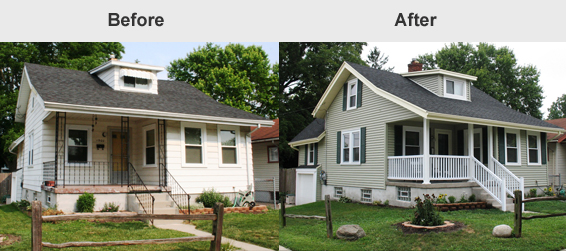 Painting Vinyl Siding Before And After Mycoffeepot Org