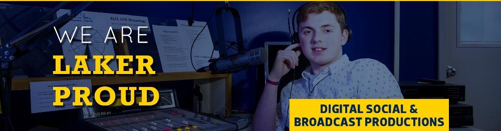 Digital, Social & Broadcast Productions