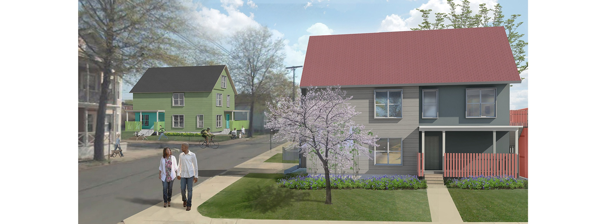Prototype For Two Family Homes | Modern Urban Infill In A Historical  Neighborhood