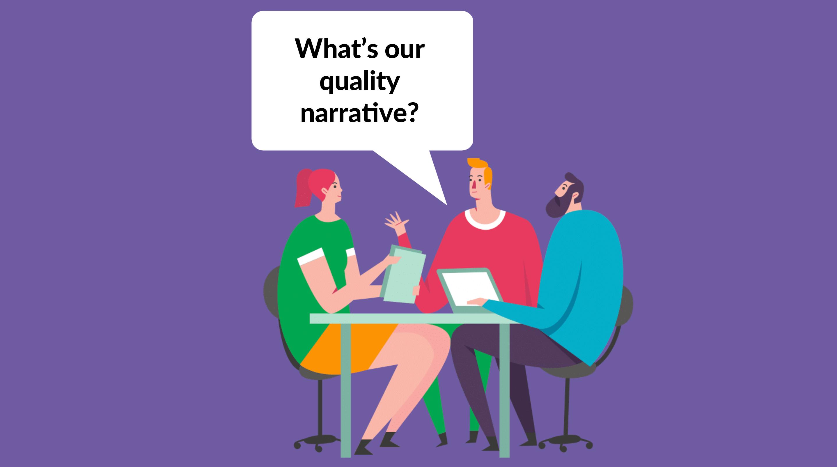 QA Strategy quality narrative