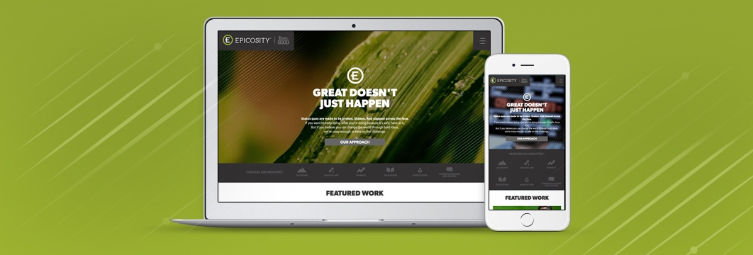 Epicosity.com: New Look, New Ideas