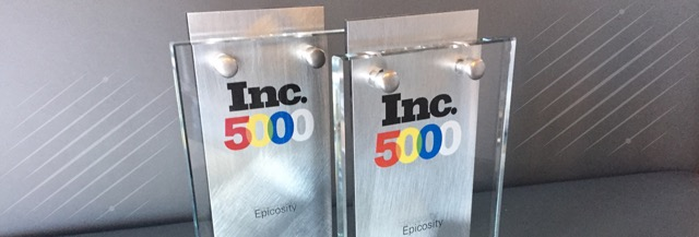 Epicosity Made the Inc. 5000—Three Years in a Row