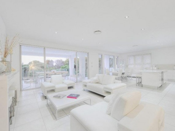 White Interior Home