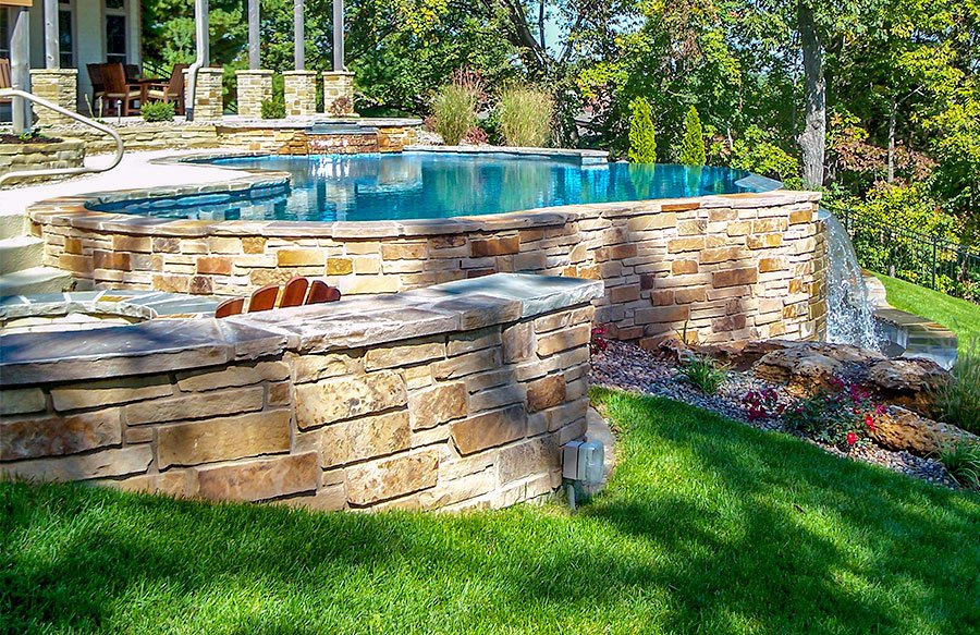 Out Of Ground Swimming Pools Custom