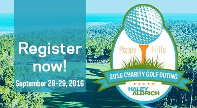 Register now for our 2016 Charity Golf Outing