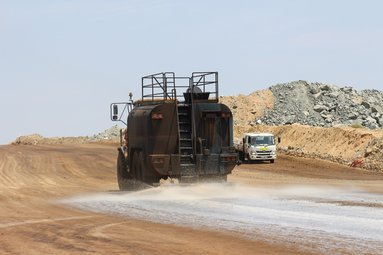 Many mines have adopted the use of dust suppression products on haul roads, yet found that these products have not worked successfully. Here's why.