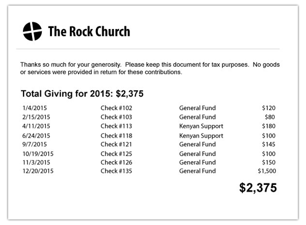 How To Make An Awesome Or Terrible End Of Year Donation Receipt
