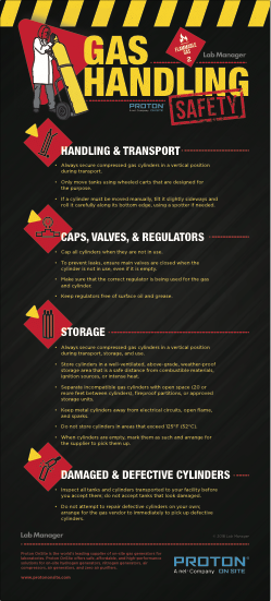 Gas Handling Infographic