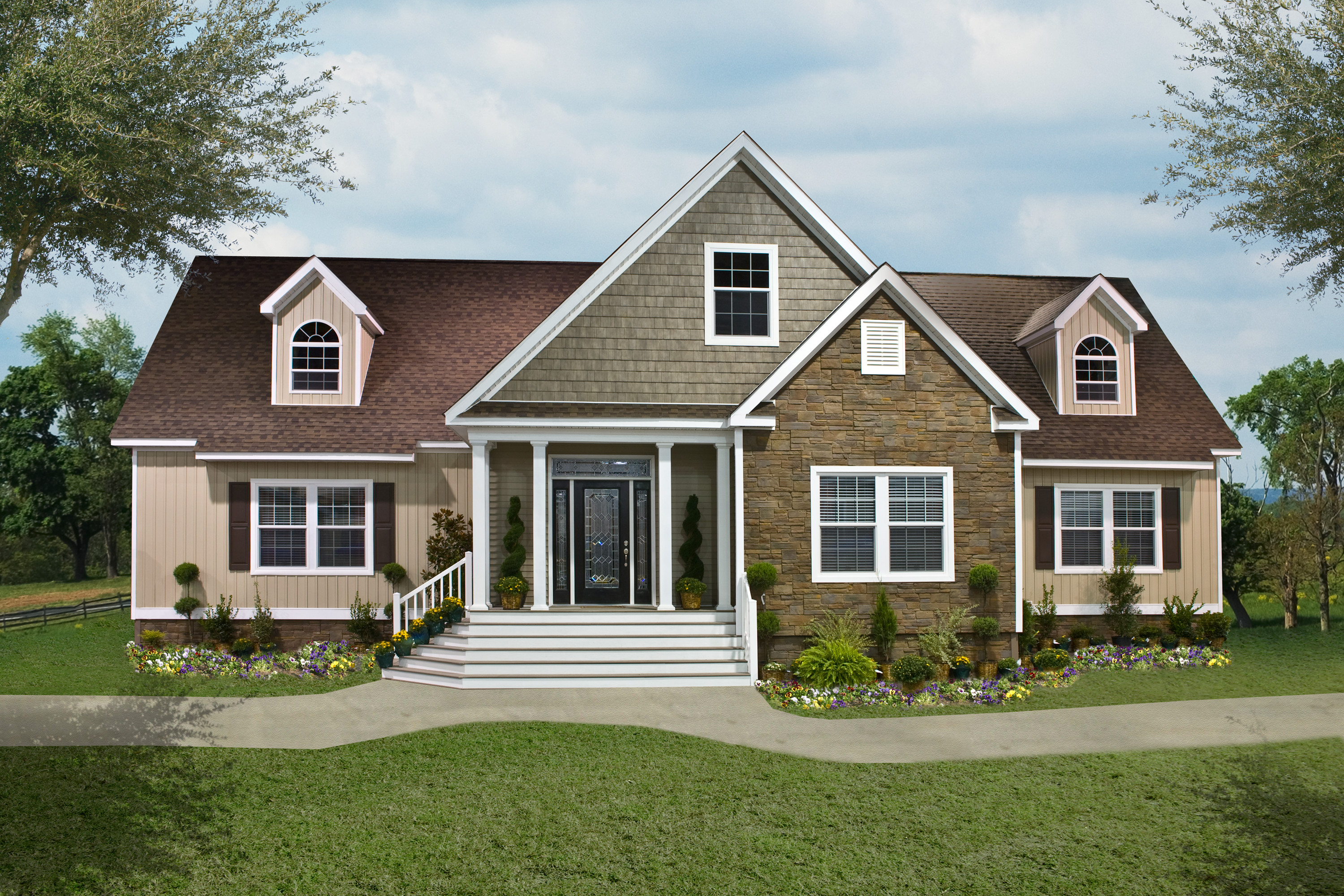 Friday favorite the 2928 oakwood model clayton blog - What is the difference between modular and manufactured homes ...