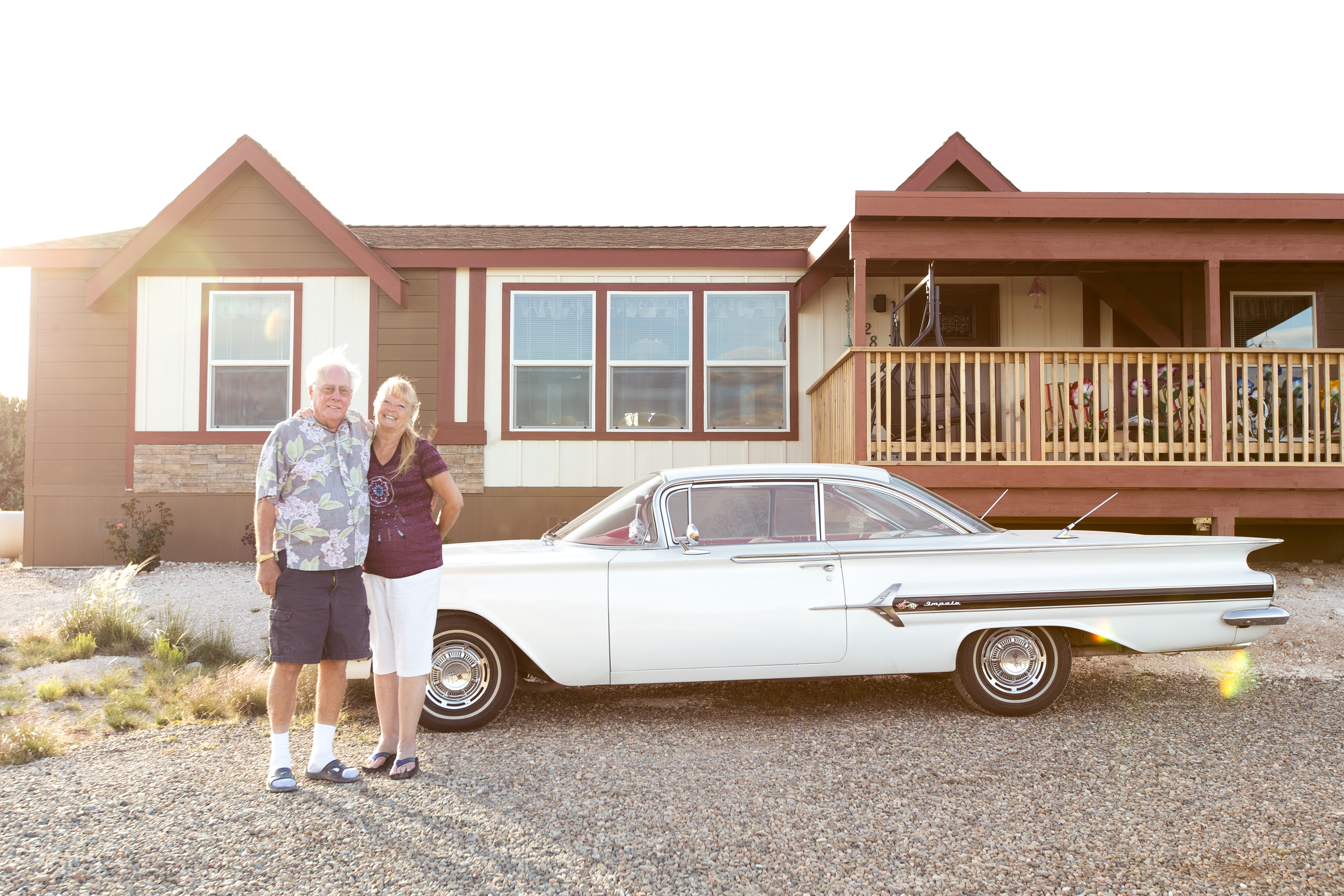 Retired Couple Downsize Clayton Home