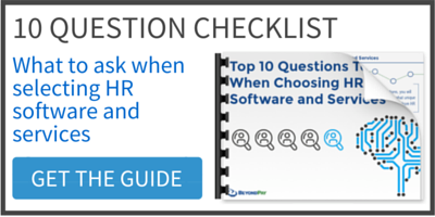 10 Question Checklist