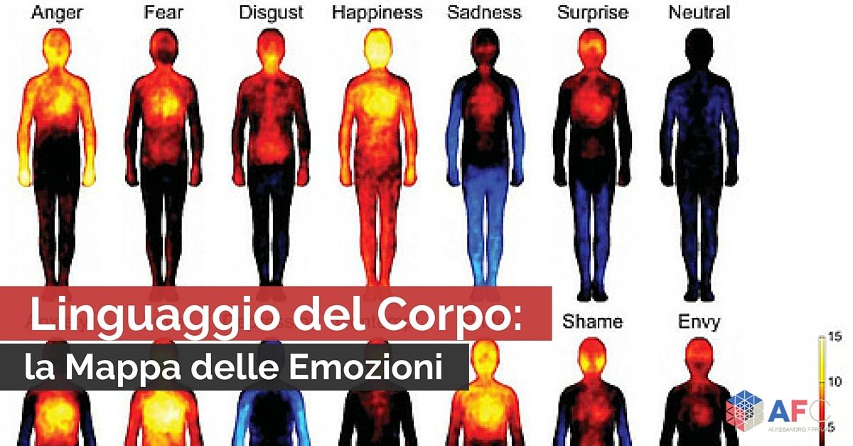 Linguaggio del corpo la mappa delle emozioni - Non ho fatto il 730 cosa succede ...