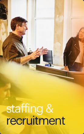 staffing recruitment button