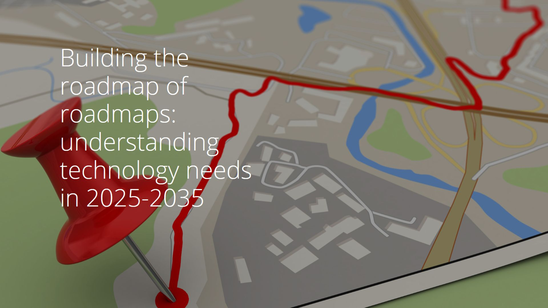 Building the roadmap of roadmaps – Roadmap of