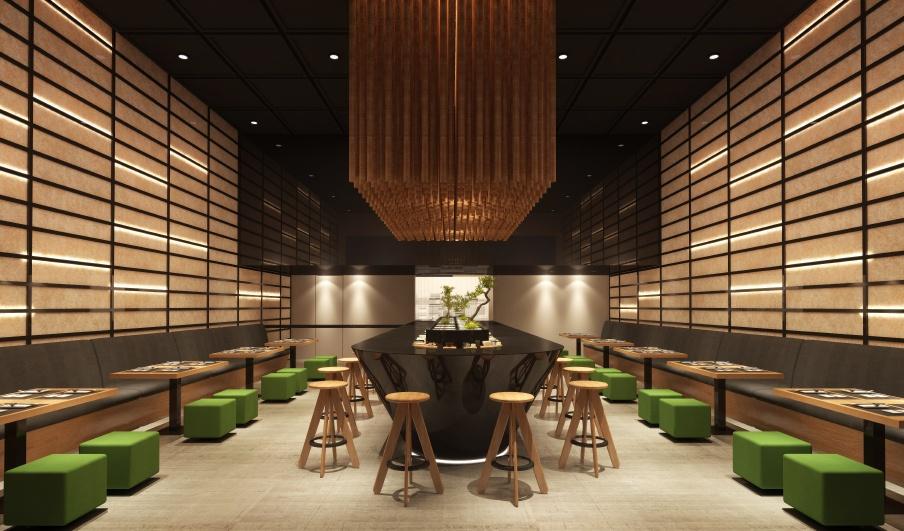 Ideas para la decoraci n de restaurantes modernos for Muebles para restaurantes modernos
