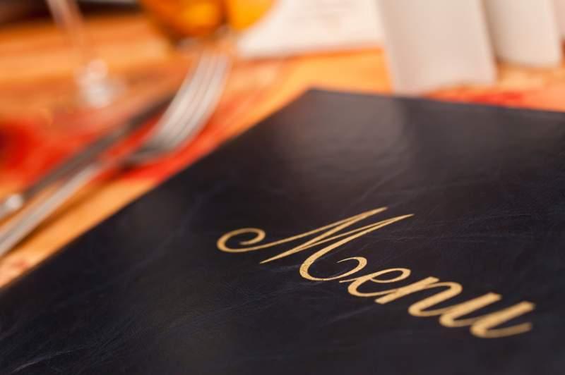 Plantillas para hacer el diseño de un menú y carta de un restaurante