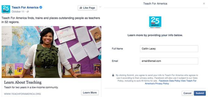 using facebook lead ads for lead generation