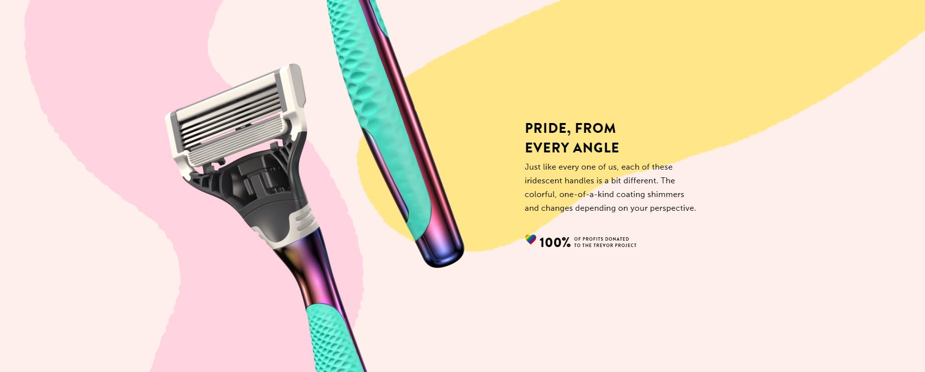 harrys x pride campaign