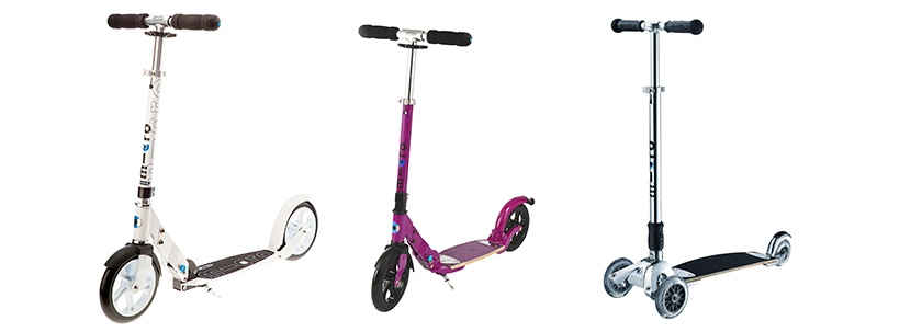 Why Mom & Dad Need a Scooter, too!