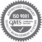 QMS Approved Company ISO 9001 Compliant