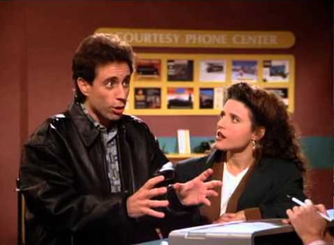 Jerry Seinfeld on Dock Scheduling - or How to 'Hold' a Reservation